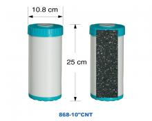 Nano silver activated carbon 10 inches (big fat)
